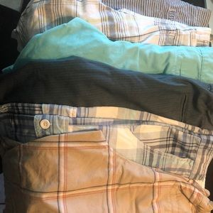6 pair of boys sz 14 (one is a 16) shorts